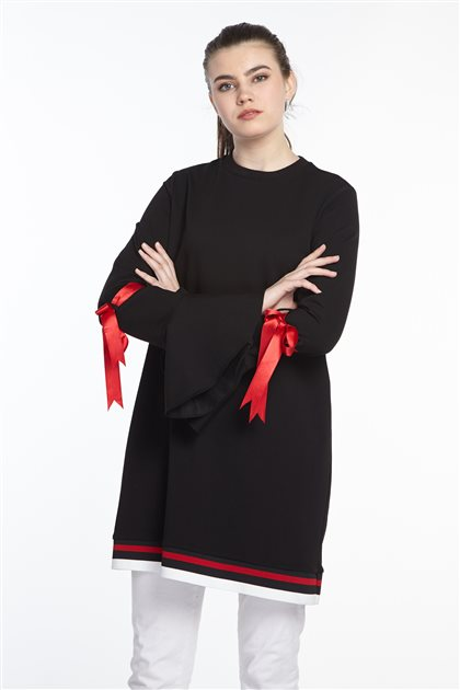 Sweatshirt-Siyah 19Y-MM21.0123-01
