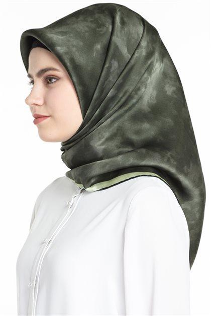 Silk Crepe Satin Scarf 7208701-352