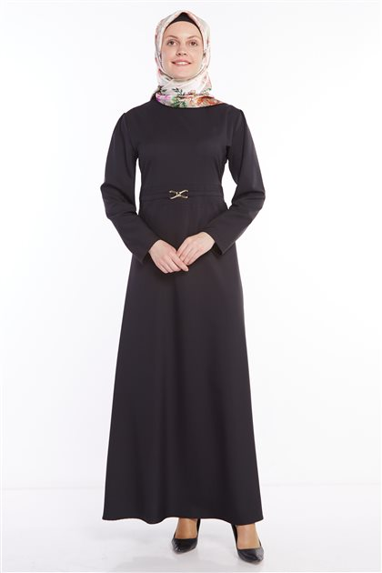 Dress-Black 0208-01