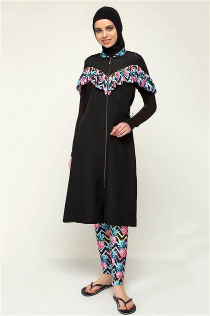 Pelin ملابس سباحة-أسود ar-1928-01