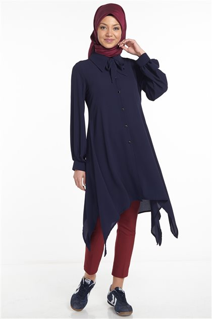 Tunic-Navy Blue 2568-17