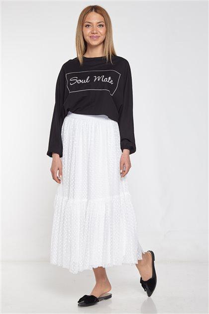 Skirt-Ecru 28038-52