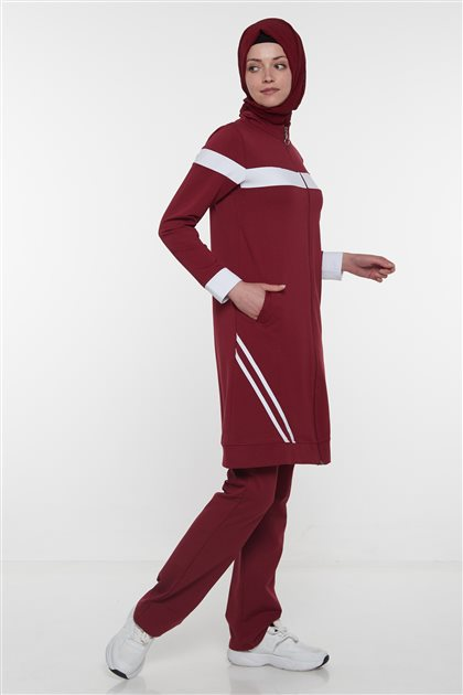 Tracksuit-Claret Red MG1007-67