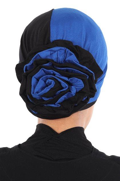 Ayşe Tasarim Bonnets-Sax-Black B-0028-4-6