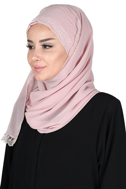 Ayşe Tasarim شال-لون البودرة CPS-0028-11