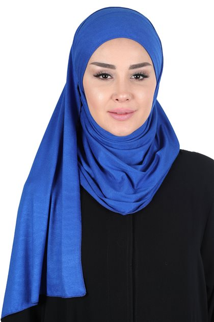Ayşe Tasarim شال-أزرق غامق CPS-0050-4