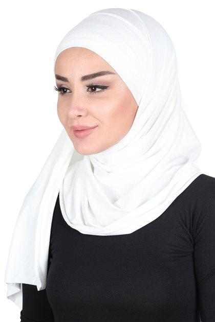 Ayşe Tasarim Shawl-Cream CPS-0050-8