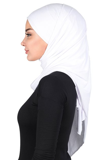 Ayşe Tasarim شال- أبيض CPS-0050-12