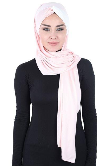 Ayşe Tasarim شال-لون البودرة-كريمي CPS-0051-7-8