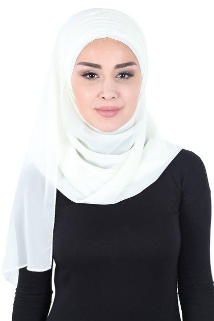 Ayşe Tasarim شال-كريمي CPS-501-22