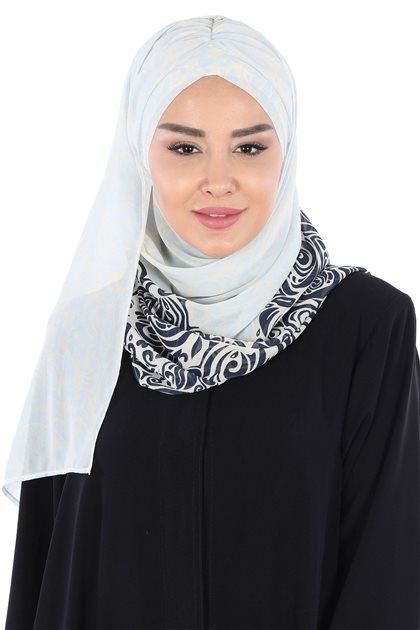 Ayşe Tasarim شال-كحلي-أزرق الرّضّع CPS-502-LB
