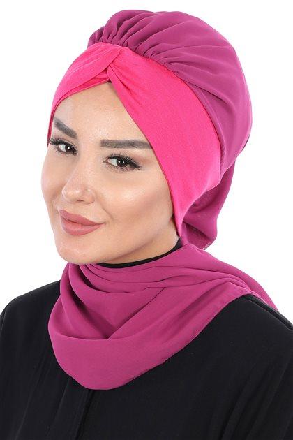 Ayşe Tasarim إيشارب-فوشي-فوشي HT-0055-1-10