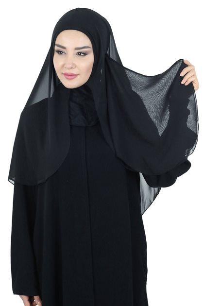 Ayşe Tasarim شال-أسود PC-0001-14