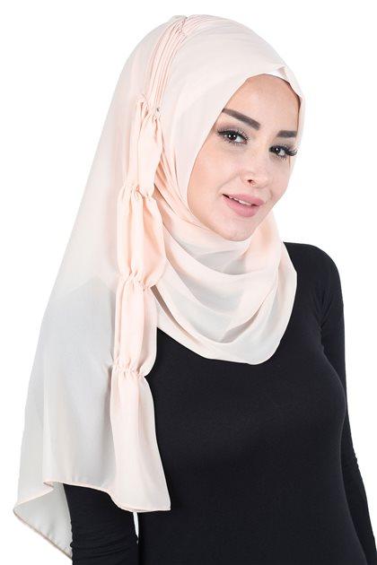 Ayşe Tasarim شال-بنطلون جينز PS-101-5