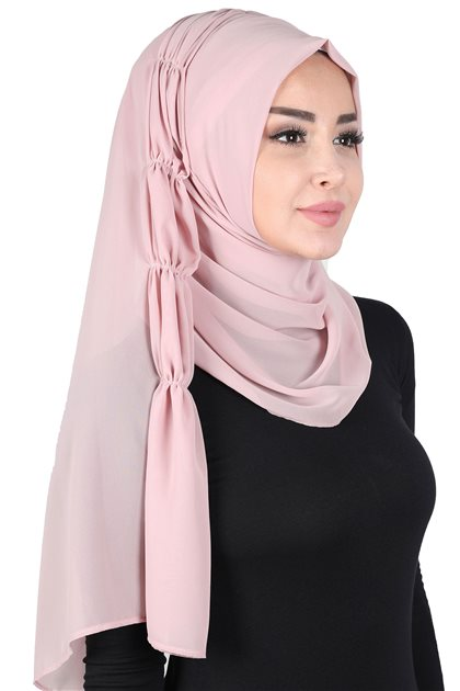 Ayşe Tasarim شال-لون البودرة PS-101-11