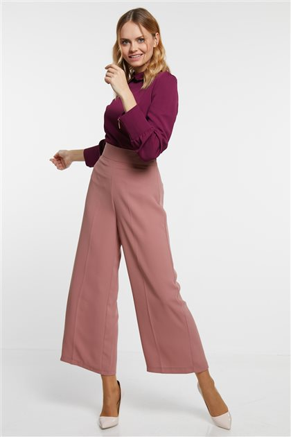 Pants-Dried rose MS700-38