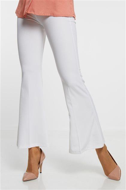 Pants-White 2681-02