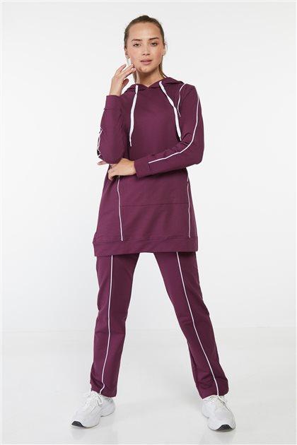 ملابس نوم طقم-أرجواني MG8028-51