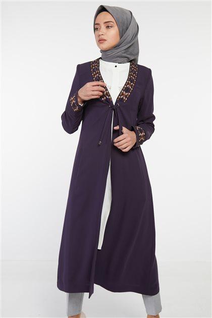 ملابس خارجية-أرجواني DO-B9-65042-24