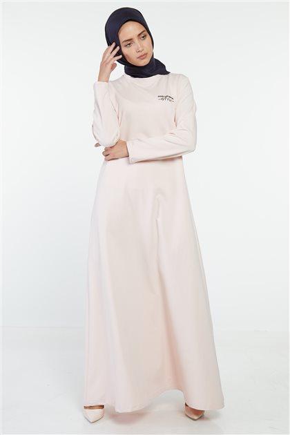 فستان -لون البودرة MG5001-41