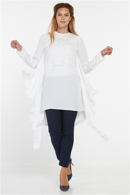 Tunic-White 0940-02