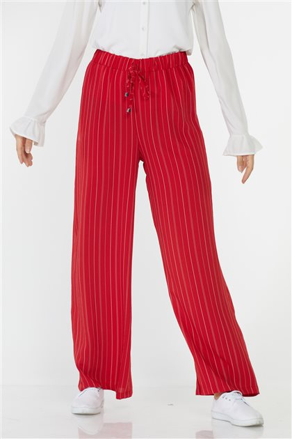 Pants-Red 4663-34