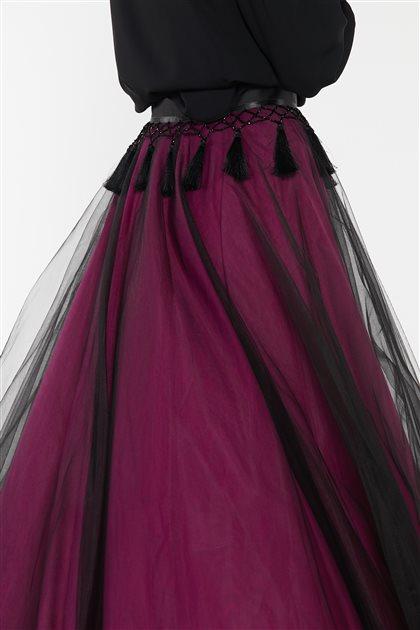Skirt-Black KA-B9-12086-12