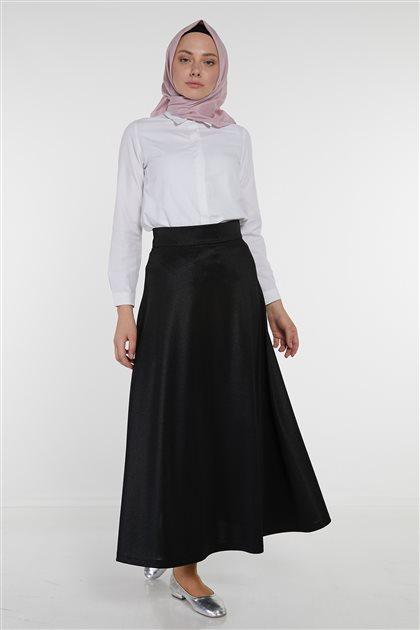 Skirt-Black KA-B9-12049-12