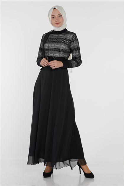 Dress-Black KA-B9-23066-12