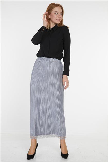 Skirt-Gray KA-B9-12021-07