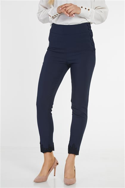 Pants-Navy Blue KA-B9-19127-11