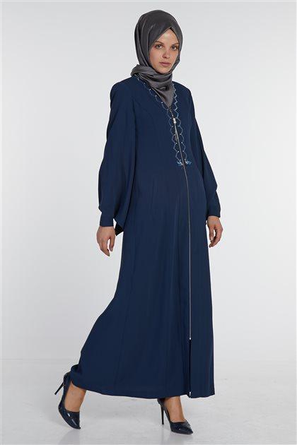 Uzun Giy-Çık-Lacivert DO-B8-65122-11
