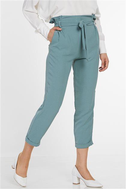 Pants-Medium Sea Green 3044-102