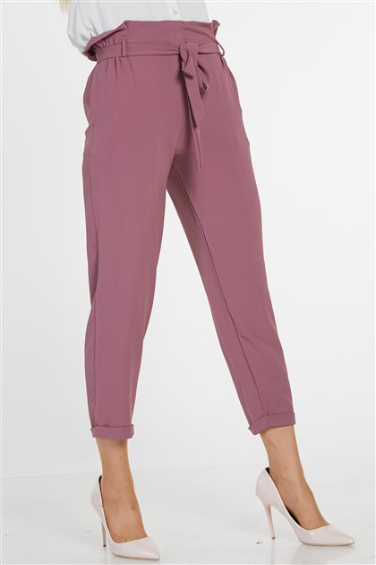 Pants-Dried rose 3044-53