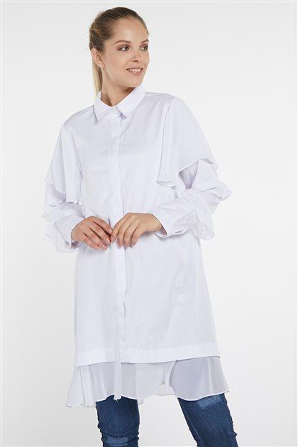 Gömlek-Beyaz 19Y-MM11.0111-02