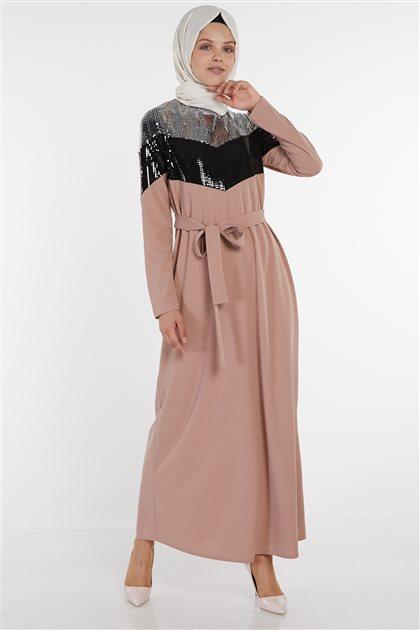 فستان-لون البودرة ar-22097-41
