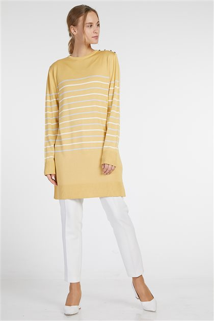 Knitwear-Yellow KA-B9-TRK01-03