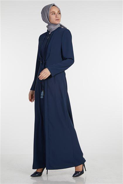 Karanfil Topcoat-Light Navy Blue 719YPRD70220-31