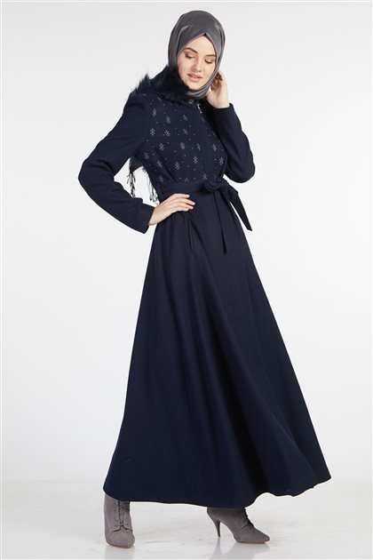 Outerwear-Navy Blue KA-A8-18012-11