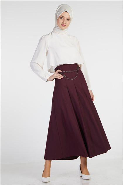 Skirt-Claret Red TK-Z3606-30