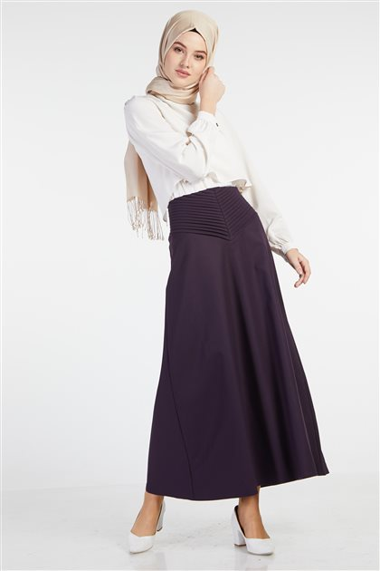 Skirt-Purple TK-Z3612-19