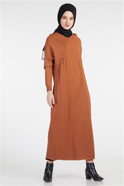 Knitwear Dress-Cinnamon TK-Z4210-46