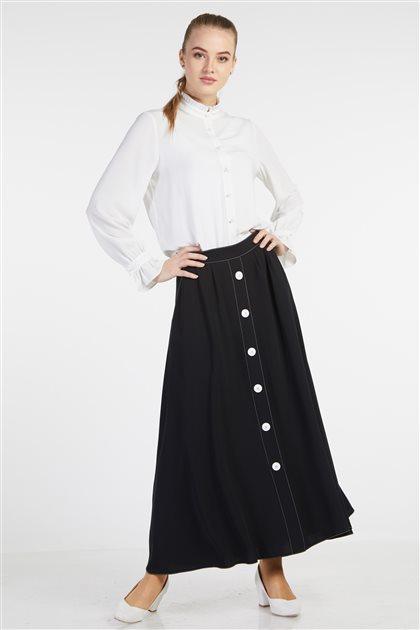 Skirt-Black TK-Z7601-09