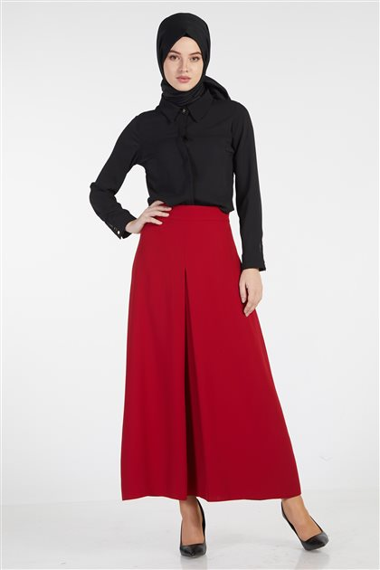 Skirt-Red TK-Z7622-11