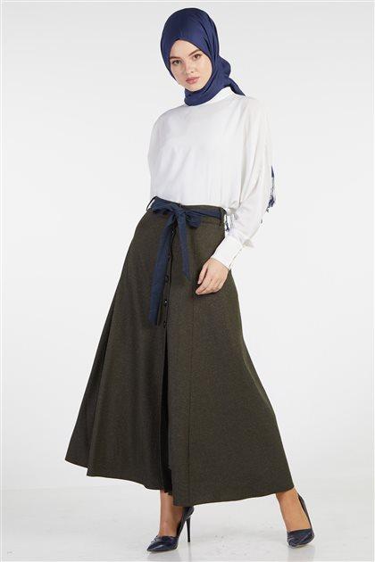 Skirt-Khaki TK-Z8617-24