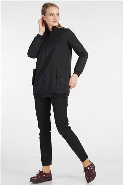Coat-Black TK-Z3117-09