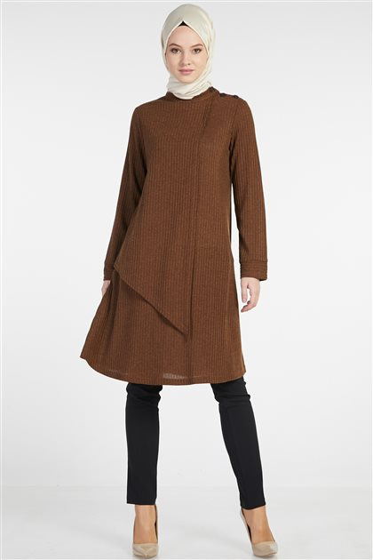 Tunic-Brown TK-Z5452-04