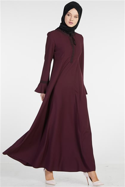 Dress-Plum TK-Z7708-10