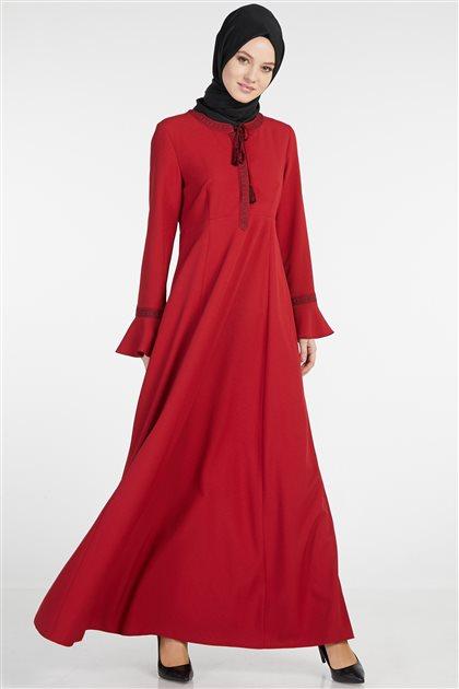 فستان-أحمر TK-Z7708-11