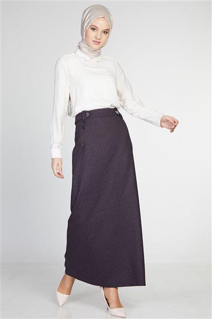 Skirt-Plum TK-Z8624-10